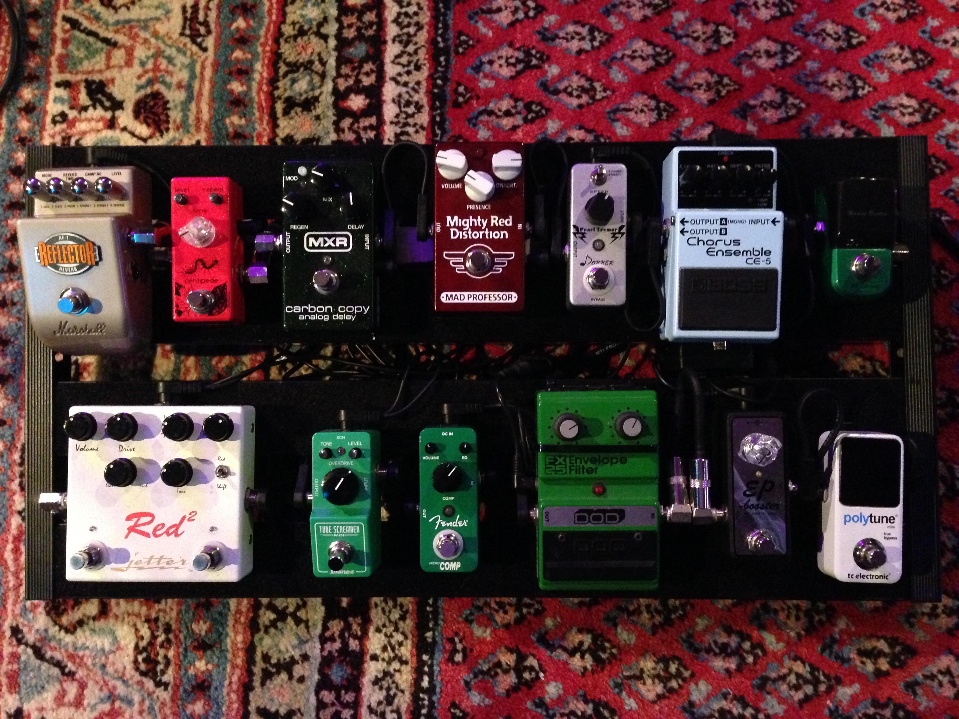 Das Board für kleine Bühnen